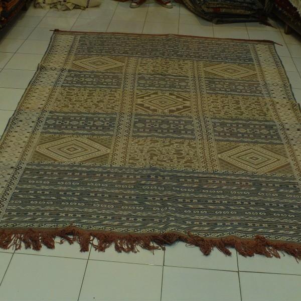 tapis kilim en laine tapis hanbel marocain brod. Black Bedroom Furniture Sets. Home Design Ideas
