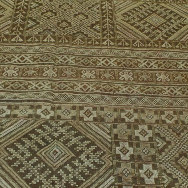 Kilim Hand-woven Wool Rug From Morocco. Hanbel Rug