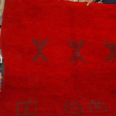 Moroccan Chichaoua carpet