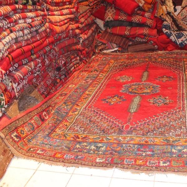 Antique Royal Carpet Rabat Morocco Art Of Oriental