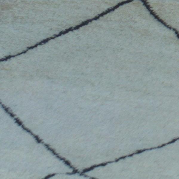 tapis beni ouarain tapis berb re marocain blanc en laine. Black Bedroom Furniture Sets. Home Design Ideas