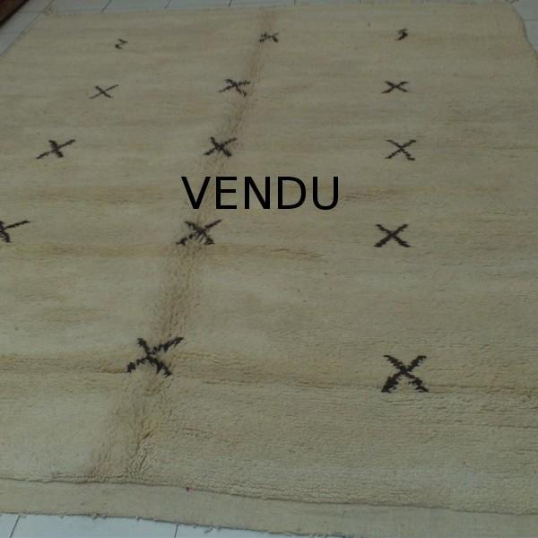 tapis marocain ancien boujad tapis d 39 art berb re rouge. Black Bedroom Furniture Sets. Home Design Ideas