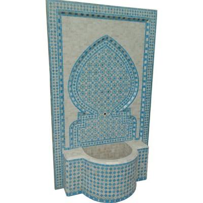 Fontaine de jardin murale marocaine