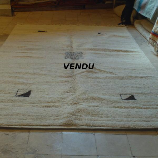 berber carpet beni ouarain m 39 rirt morocco. Black Bedroom Furniture Sets. Home Design Ideas