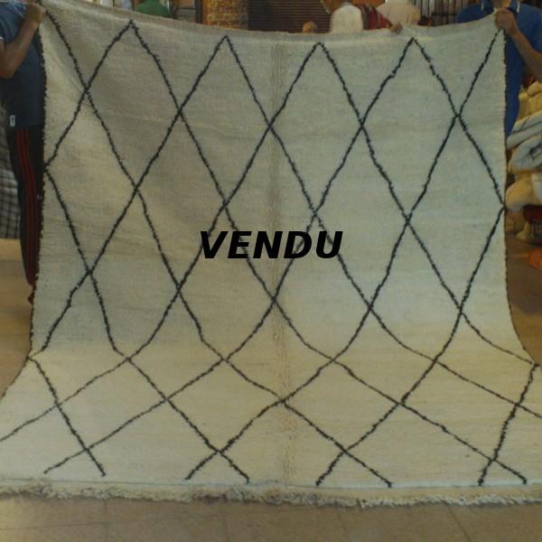 beni ouarain berber rug middle atlas morocco. Black Bedroom Furniture Sets. Home Design Ideas