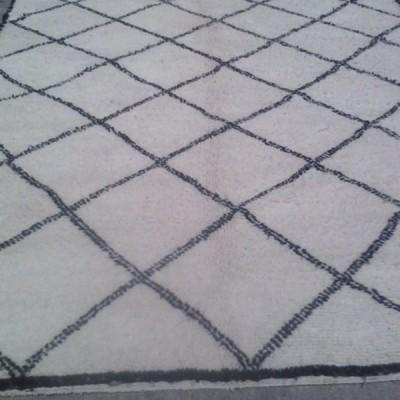 Moroccan Beni Ouarain carpet