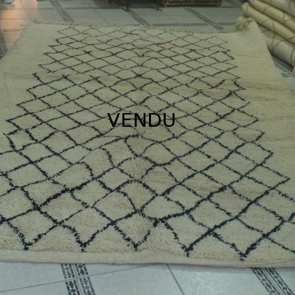 berber carpet beni ouarain hand made in morocco. Black Bedroom Furniture Sets. Home Design Ideas
