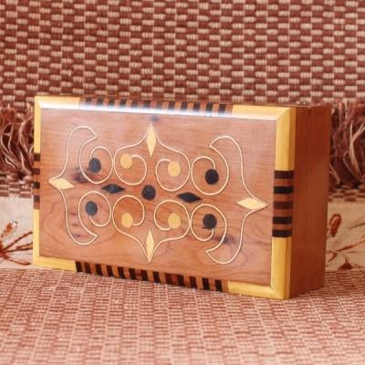Boîte à bijoux en thuya