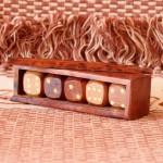 Dice Box in Golden Rosewood