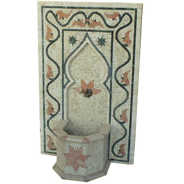fontaine murale en pierre de taille marrakech maroc. Black Bedroom Furniture Sets. Home Design Ideas