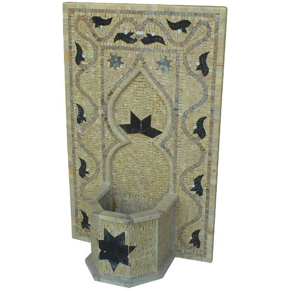 Fontaine murale en pierre de taille artisanat de marrakech - Fontaine en pierre murale ...