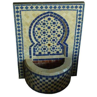Mosaic zellij Fountain