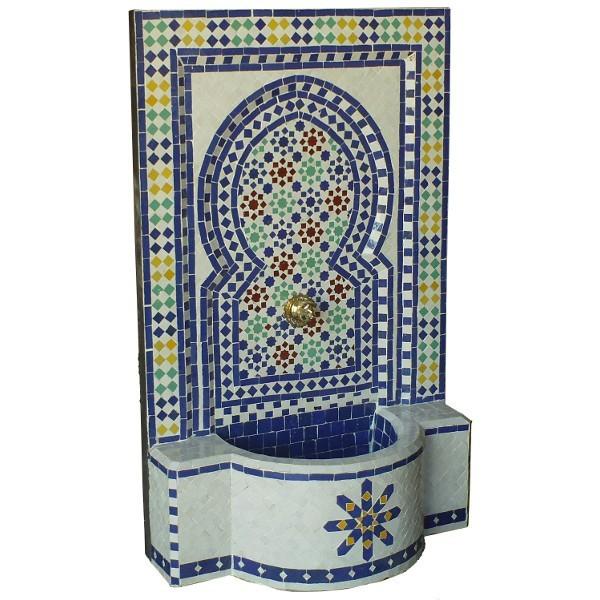 Traditional Moroccan Zellij Fountain Of Marrakesh