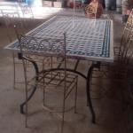 Table en zellige rectangulaire
