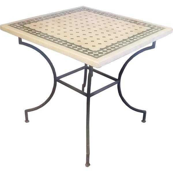 Morocco zellige Table