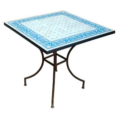 Zellij Art Table
