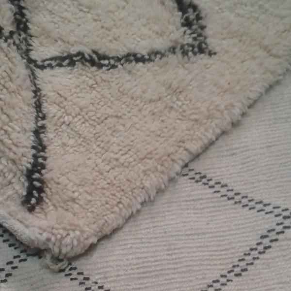 tapis du maroc beni ouarain en laine de mouton. Black Bedroom Furniture Sets. Home Design Ideas