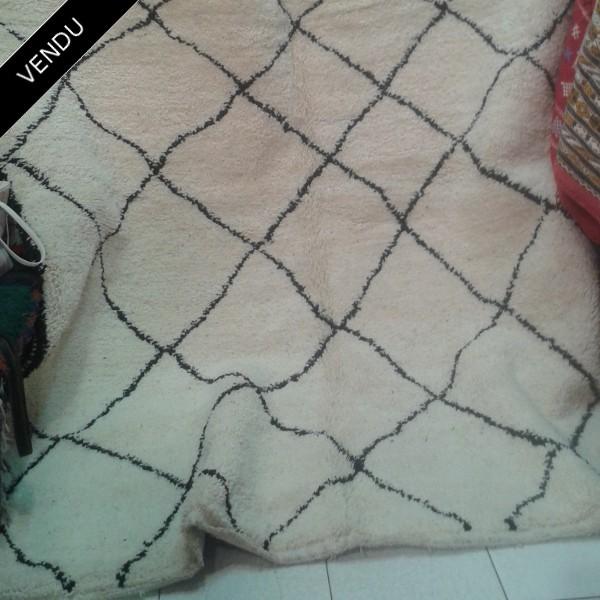 tapis du maroc beni ouarain 100 laine. Black Bedroom Furniture Sets. Home Design Ideas
