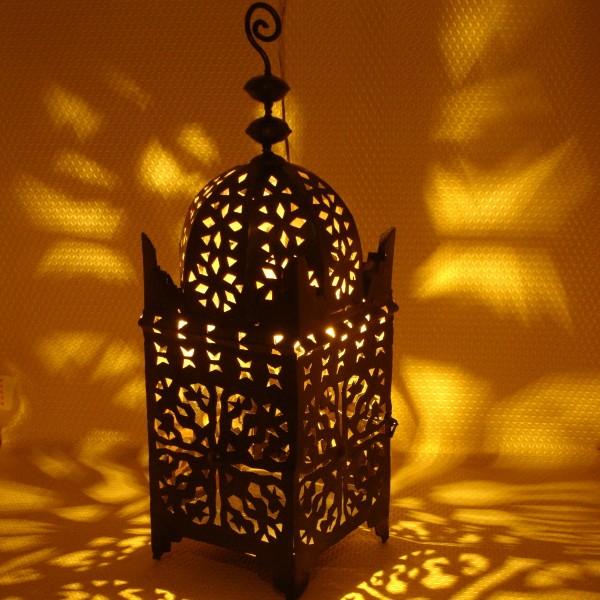 Suspension Marocaine Lustre En Fer Fabriqu 233 E 224 Marrakech