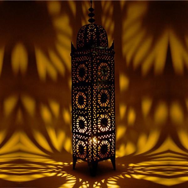luminaire marocain en fer koutoubia. Black Bedroom Furniture Sets. Home Design Ideas