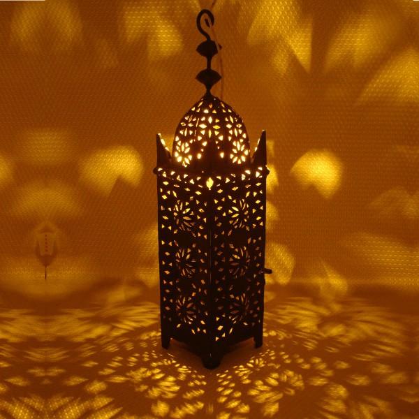 luminaire marocain noir en fer forg marrakech. Black Bedroom Furniture Sets. Home Design Ideas