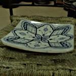 Assiette en céramique
