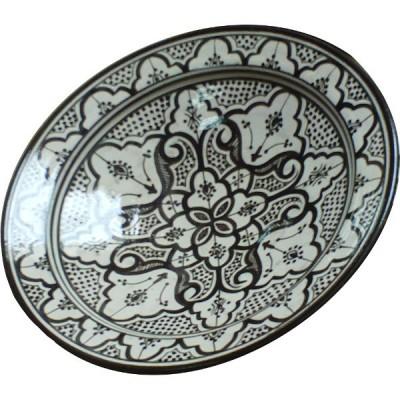 Plat marocain, céramique de Safi