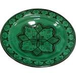 Plat marocain en céramique