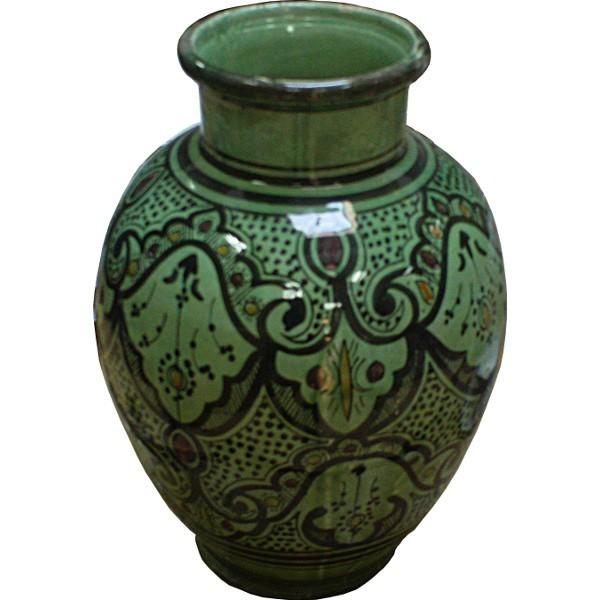 Morocco ceramic pottery vase
