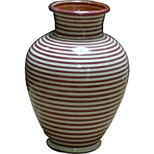 Moroccan Ceramic Pottery Vase Of Safi Morocco