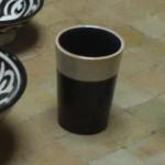 Moroccan Ceramic Tea glass