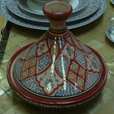 Plat à tajine marocain décoratif
