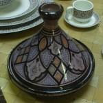 Plat à tajine marocain pour la décoration
