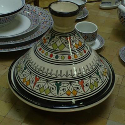 Plat à tajine marocain Design
