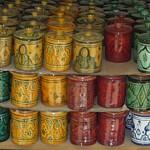 Sucriers marocains en céramique