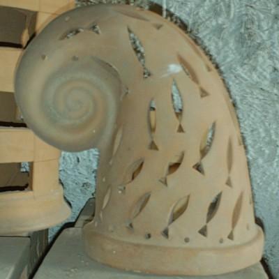 Snail Terracotta Sconce