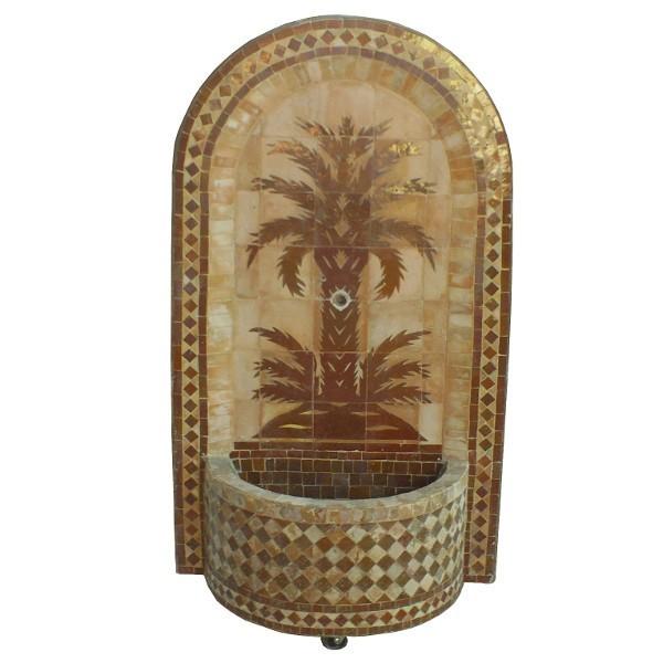 Artisanat marocain de marrakech mars 2015 - Fontaines de jardin murales ...