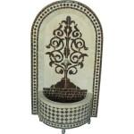 Fontaine décorative en zellige du Maroc
