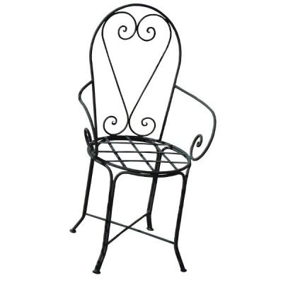 Chaise En Fer Forg Du Maroc Chaise  Bras Design
