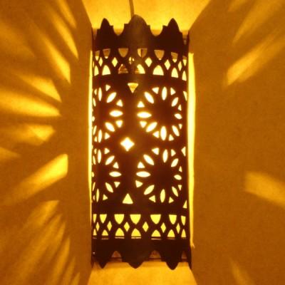 applique murale noire d couvrez l 39 ambiance int rieure marocaine. Black Bedroom Furniture Sets. Home Design Ideas