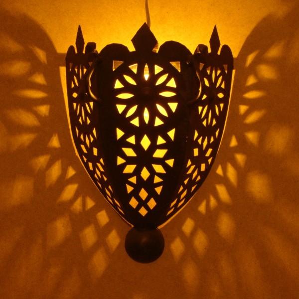 Moroccan Ceramic Wall Lights : Moroccan Wall lighting of Marrakesh, Moroccan handicraft