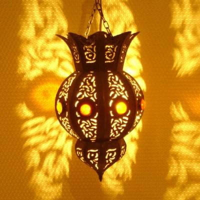 Moroccan tinplate Lantern