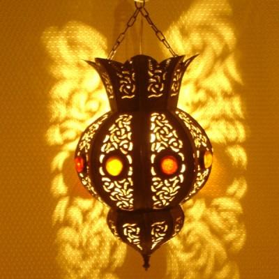 luminaire de salon en m tal suspension marocaine marrakech. Black Bedroom Furniture Sets. Home Design Ideas