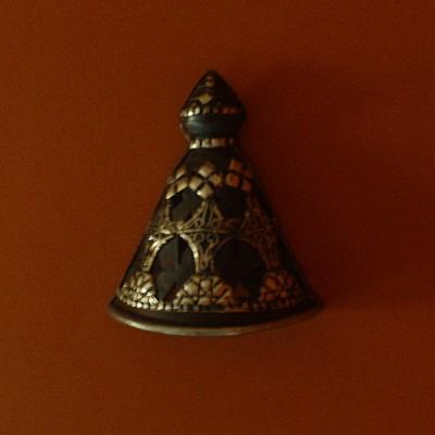 Applique murale marocaine triangulaire en terre cuite ferr e for Applique murale exterieure en terre cuite