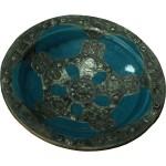Plat marocain métal céramique