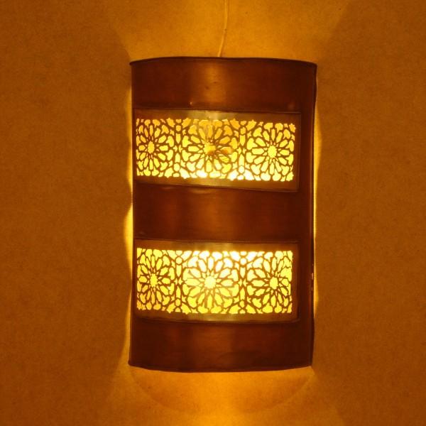 applique murale marocaine en m tal d 39 aspect cuivre rouge. Black Bedroom Furniture Sets. Home Design Ideas