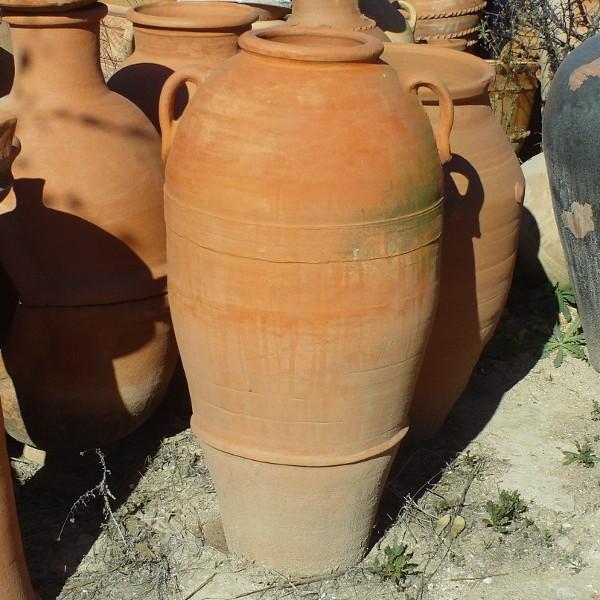 amphora terracotta for garden decoration moroccan handicraft. Black Bedroom Furniture Sets. Home Design Ideas