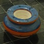 Cendrier marocain en céramique