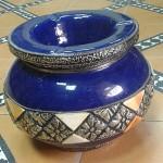 Cendrier marocain bleu