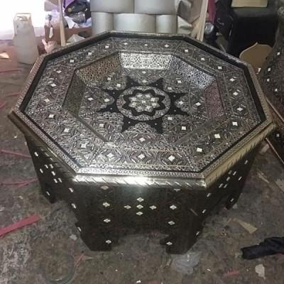 Table marocaine octogonale